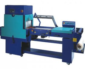 Machines for shrink film packaging